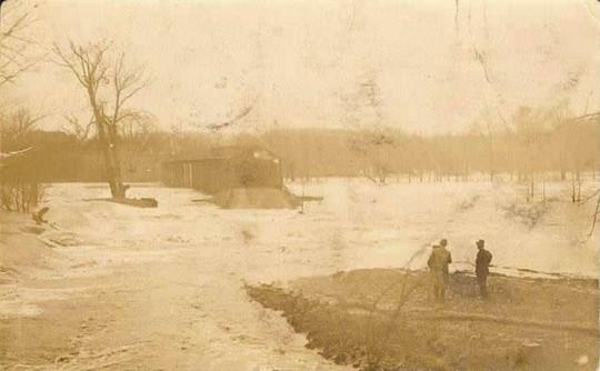 Harpersfield 1913 flood