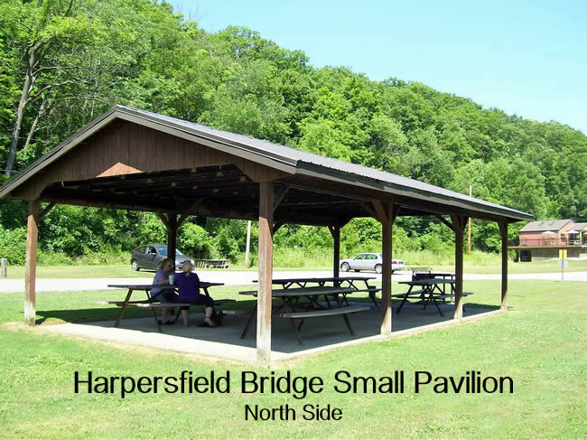 Harpersfield Covered Bridge North Side